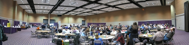 Gaming Hall Panoramic
